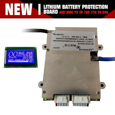 AU96.09 • Buy Ant BMS 7S To 16S 17S To 24S Li-ion LTO Battery Protection Board Smart Bluetooth