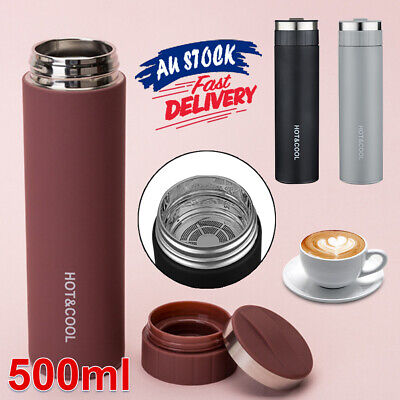 AU19.59 • Buy Tea Bottle  Cup  Water Mug Portable Thermos Vacuum    Insulated