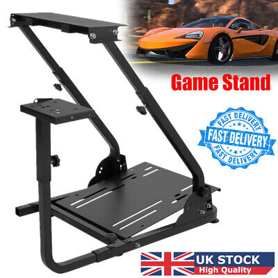 Racing Simulator Steering Wheel Stand Driving Gaming For G25 G29 G920 T300RS UK • 42.78£