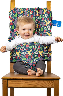 Totseat – The Award Winning Original Portable Travel High Chair Adjustable Was • 38.57£