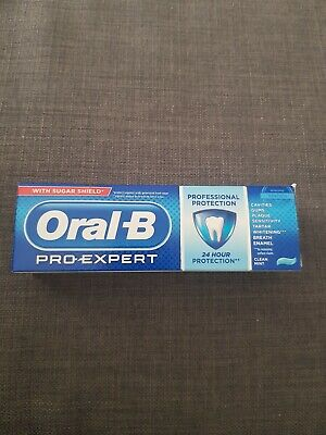 View Details Oral-B Pro-Expert Professional Protection Toothpaste 75ml Clean Mint! • 3.79£