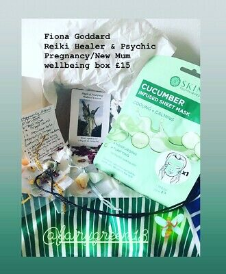 Wellbeing Box - Pregnancy / New Mum Box With Mexican Bola/ Angel Chime Ball  • 15£
