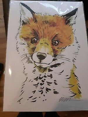 £15 • Buy Signed Fox Picture