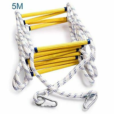 Aoneky Escape Rope Ladder - Emergency Fire Ladders - 2 Storey, 16ft  • 75£