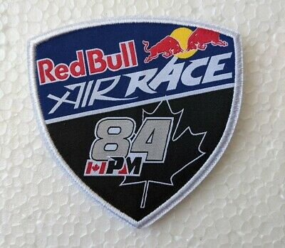 £8 • Buy Red Bull Air Race Pete Mcleod Race Pilot Number Patch Badge