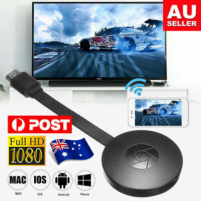 AU27.95 • Buy Gogle Chromecast Chrome Cast Substitute Ultra FHD Media Video STREAMING WiFi