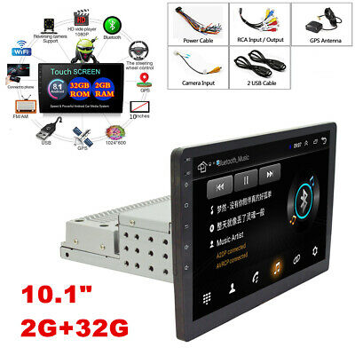 AU204.47 • Buy 10in Android 8.1 1DIN Quad-core HD Car Stereo Radio Multimedia MP5 Player GPS