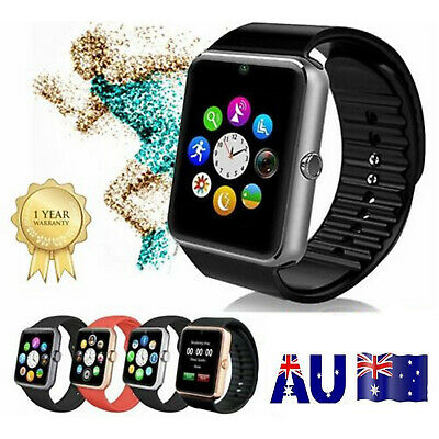AU22.52 • Buy Children Kids Adult Smart Watch Bluetooth GSM SIM TF Card For IOS IPhone Android