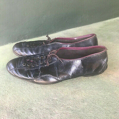 1940s Leather Cycling Shoes  Eroica  Racing Bike Felco Size Large  8  • 35£