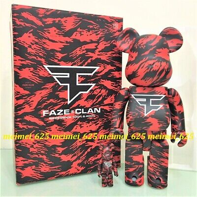 $299.99 • Buy Bearbrick Medicom 2020 Faze Clan Exclusive 100% 400% Be@rbrick