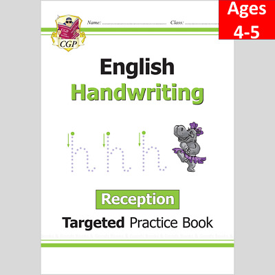 £5.69 • Buy Ages 4-5 English Targeted Practice Book Handwriting  Reception CGP