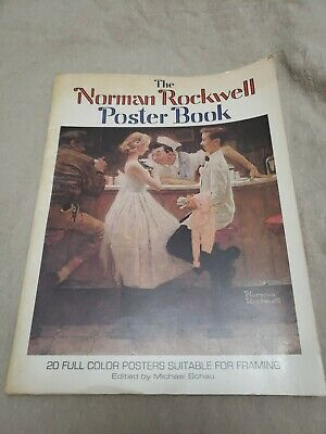 $ CDN24.65 • Buy The Norman Rockwell Poster Book - 20 Full Color Posters Suitable For Framing