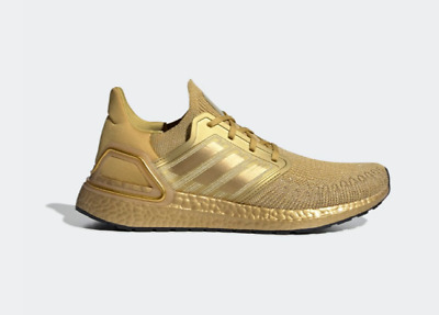 AU239.99 • Buy Adidas Ultra Boost 20 Gold Metallic EG1343 Shoes (Brand New) - US Mens 11.5