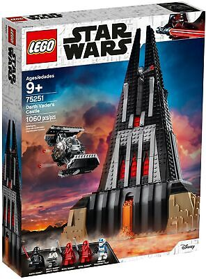 AU257.50 • Buy LEGO 75251 Star Wars Darth Vader's Castle - BRAND NEW SEALED