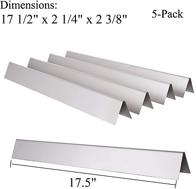 $ CDN43.03 • Buy Stainless Steel Flavorizer Bars 5pk BBQ Gas Grill Parts For Weber Genesis 7620