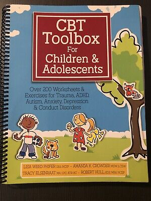 £18.14 • Buy CBT Toolbox For Children Adolescents Worksheets & Exercises Resource Counseling