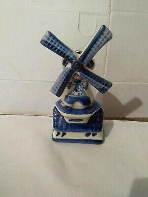 £5 • Buy Vintage Delft Windmill
