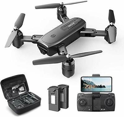 AU146.39 • Buy DEERC D30 Foldable Drone With 1080P FPV HD Camera For Adults, RC Quadcopter With