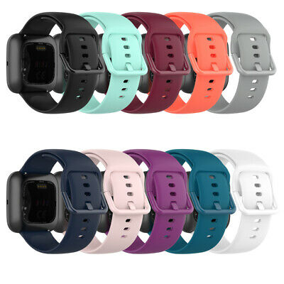 $ CDN5.99 • Buy For Fitbit Versa Band Lite Silicone Strap Wristband Replacement Sports Bands