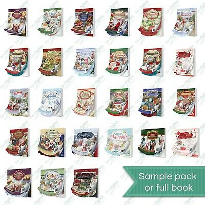 Hunkydory Little Book - Cardmaking Scrapbooking - Christmas Designs !FREE P&P! • 2.69£