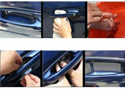 AU4.79 • Buy 4pc Invisible Car Door Handle Films Protective Scratches Protector Accessories
