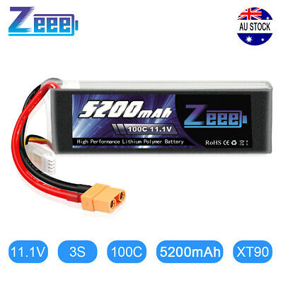 AU54.99 • Buy Graphene 5200mAh 100C 11.1V 3S XT90 LiPo Battery For RC Helicopter Car Truck