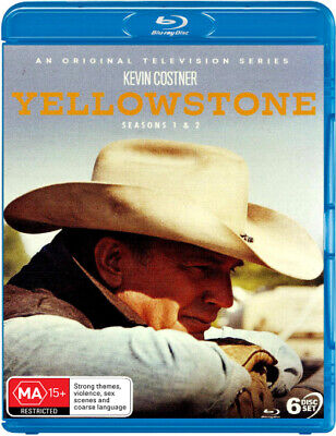 AU91.15 • Buy Yellowstone: Seasons 1 - 2  - BLU-RAY - NEW Region B