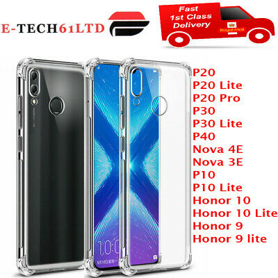 £1.99 • Buy CLEAR Case For Huawei P20 P30 Pro Lite Mate Smart Cover Shockproof Silicone Gel