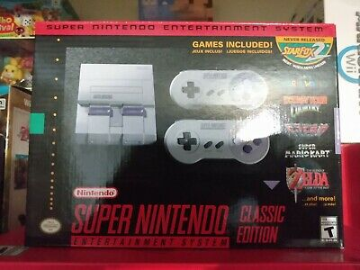$ CDN299.99 • Buy Authentic Nintendo Super Nes Snes Console Classic Edition *brand New Rare*