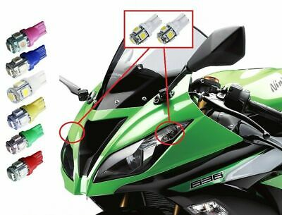$11.99 • Buy Kawasaki Zx6r 636 LED Headlight Pilot Park Lights T10 194 2000-2018