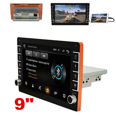 AU184.71 • Buy Single 1Din Android 8.1 Car Stereo Radio 9in Touch Screen MP5 Player GPS 1G+16G
