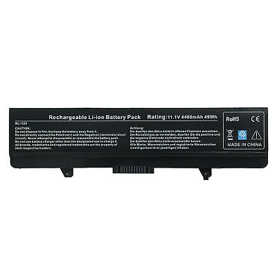 $12.99 • Buy Battery For Dell Inspiron 1525 1526 1545 1546 GW240 RN873 X284G M911G HP297