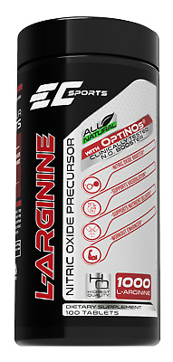 L-Arginine | Nitric Oxide Booster | Amino Acid | Clinically Tested | 100 Tablets • 20.99£