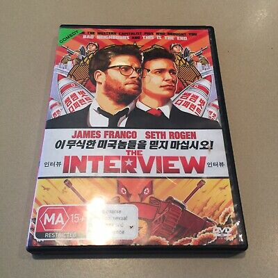 AU6.50 • Buy The Interview Seth Rogen James Franco Comedy Movie Dvd Free Shipping