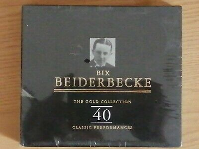 Bix Beiderbecke - Gold Collection 40 Classic Performances (1998) • 15£