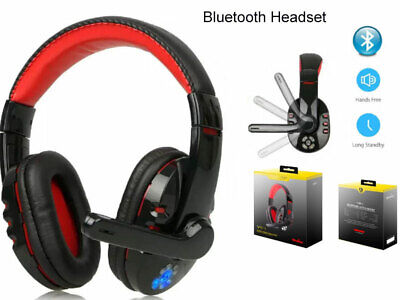 AU38.99 • Buy Bluetooth Wireless Gaming Headset Headphone Stero Mic For IPhone IPad Tablet