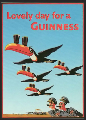 Metal Sign - Guinness Toucan Vintage Advertising Plaque Retro Beer Man Cave Tin • 5.99£