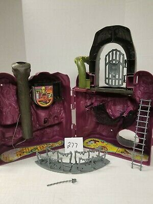 $115 • Buy Masters Of The Universe SNAKE MOUNTAIN Playset Near Complete Works