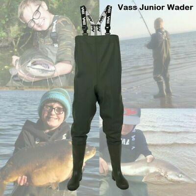 Vass Tex 600 Junior Kids Women Series Chest Wader VA600-70J  - Carp Fishing *New • 51.94£