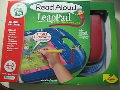 £45.94 • Buy Leap Pad Read Aloud Plus Microphone Leap Frog Learning System, Brand New Sealed
