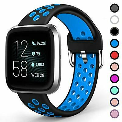 $ CDN12.49 • Buy Sport Bands For Fitbit Versa/Versa 2 / Lite,Soft Silicone Waterproof Breathable
