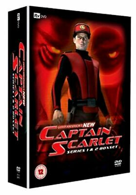 Gerry Anderson's New Captain Scarlet: Complete Series 1 And 2 (Box Set) [DVD] • 28.99£