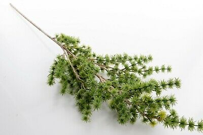 £4.99 • Buy 80cm Artificial Green Foliage Leave Stem, Forest Branch Plant Greenery Tree