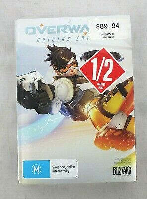 AU34.95 • Buy Overwatch Origins Edition PC Game By Blizzard