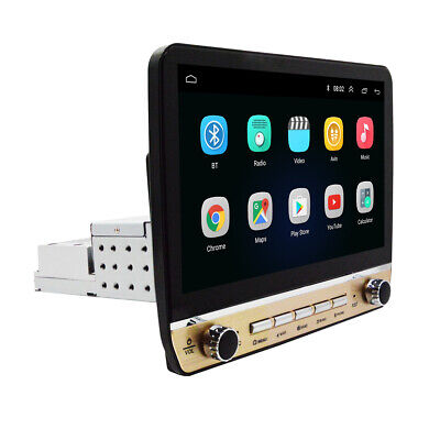 $ CDN224.09 • Buy Android 9.1 HD 10.1in 1DIN HD Car Stereo Radio Player WIFI GPS Mirror Link OBD