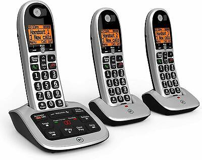 BT 4600 Trio Big Button Digital Cordless Telephones With Advanced Call Blocker • 49.99£
