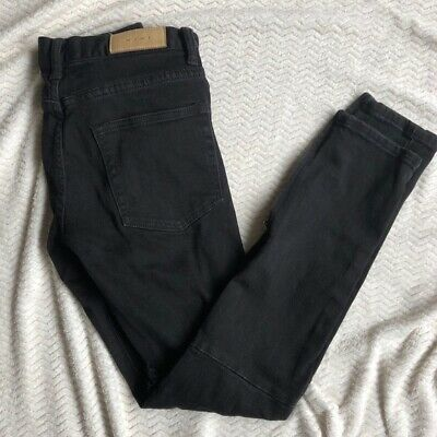 $ CDN32.21 • Buy MNML Black Skinny Heavily Distressed Jeans 29