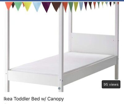 OVRE ÖVRE From IKEA Canopy Multicolor Flags For Child's Bed Bunk 70 X 160 Cm • 9.26£