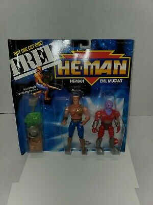 $175 • Buy NEW MOTU,HE-MAN & EVIL MUTANT New Adventures,,sealed,Masters Of The Universe