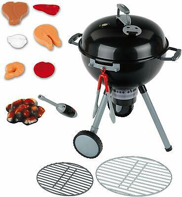 $ CDN46.43 • Buy Weber Toy Kettle Grill Barbecue Theo Klein  For Kids Black Mini New
